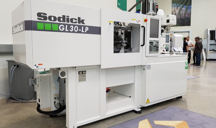 Sodick bringing injection molding machines to Europe