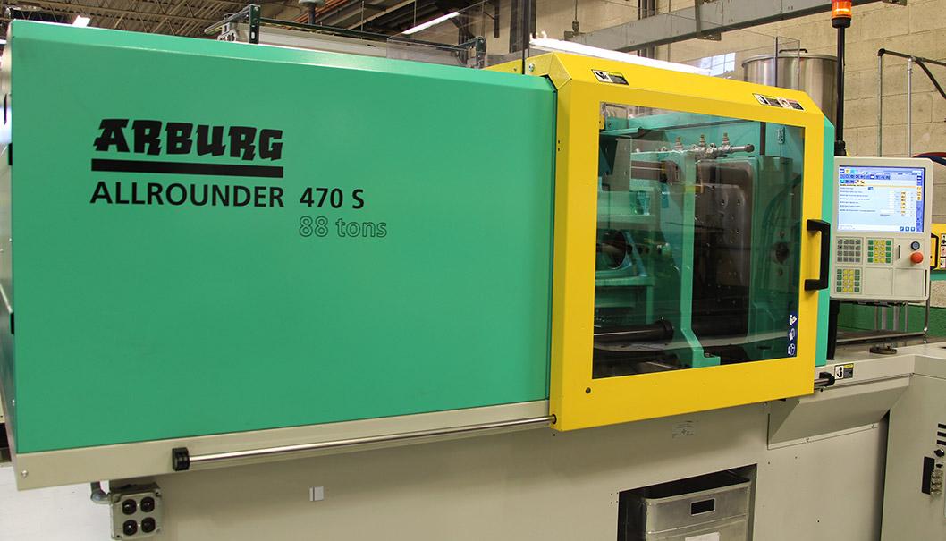 Woodland-Plastics-buys-Arburg-thermoset-molding-press