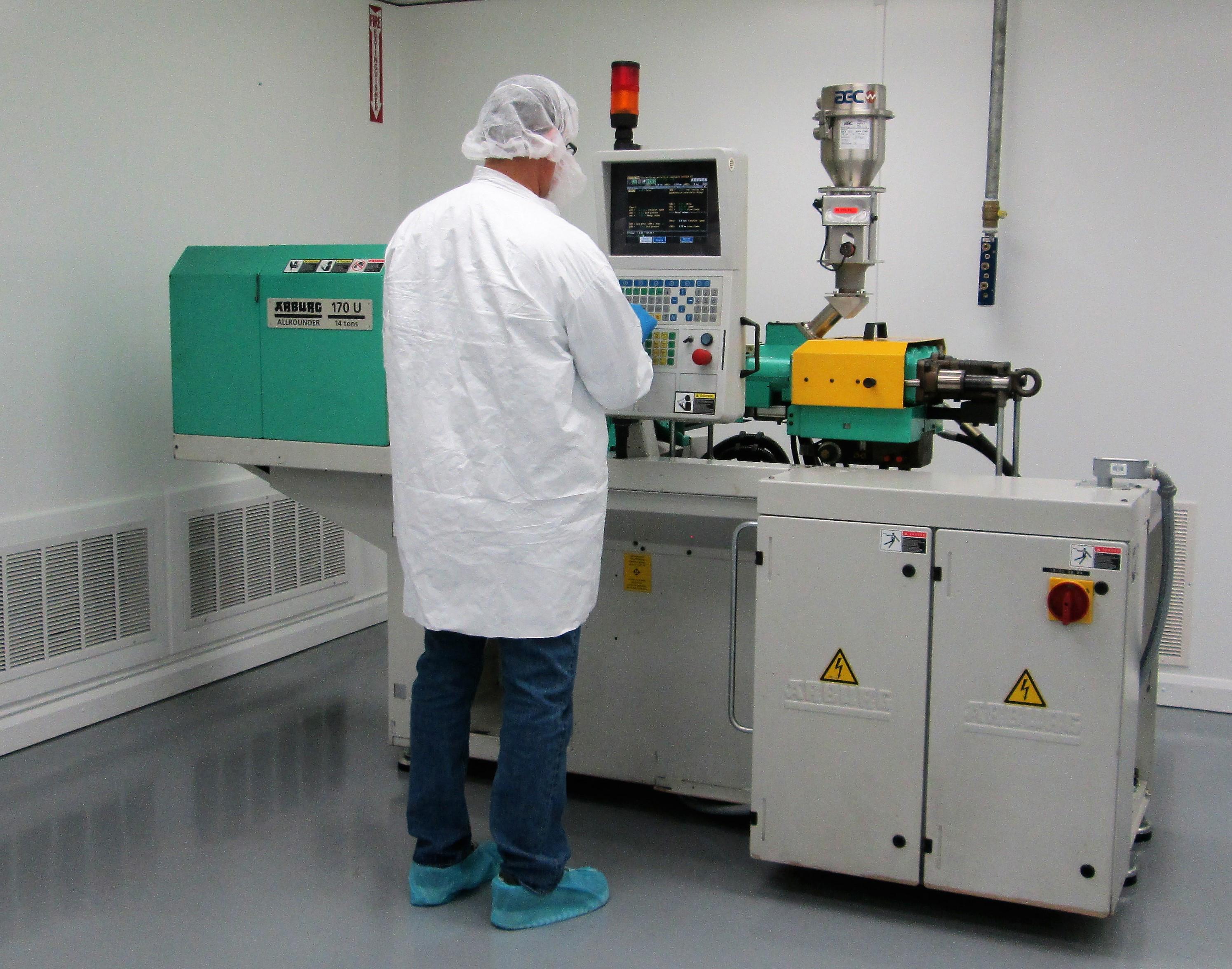 Texas-molder-All-Plastics-adds-equipment-white-room
