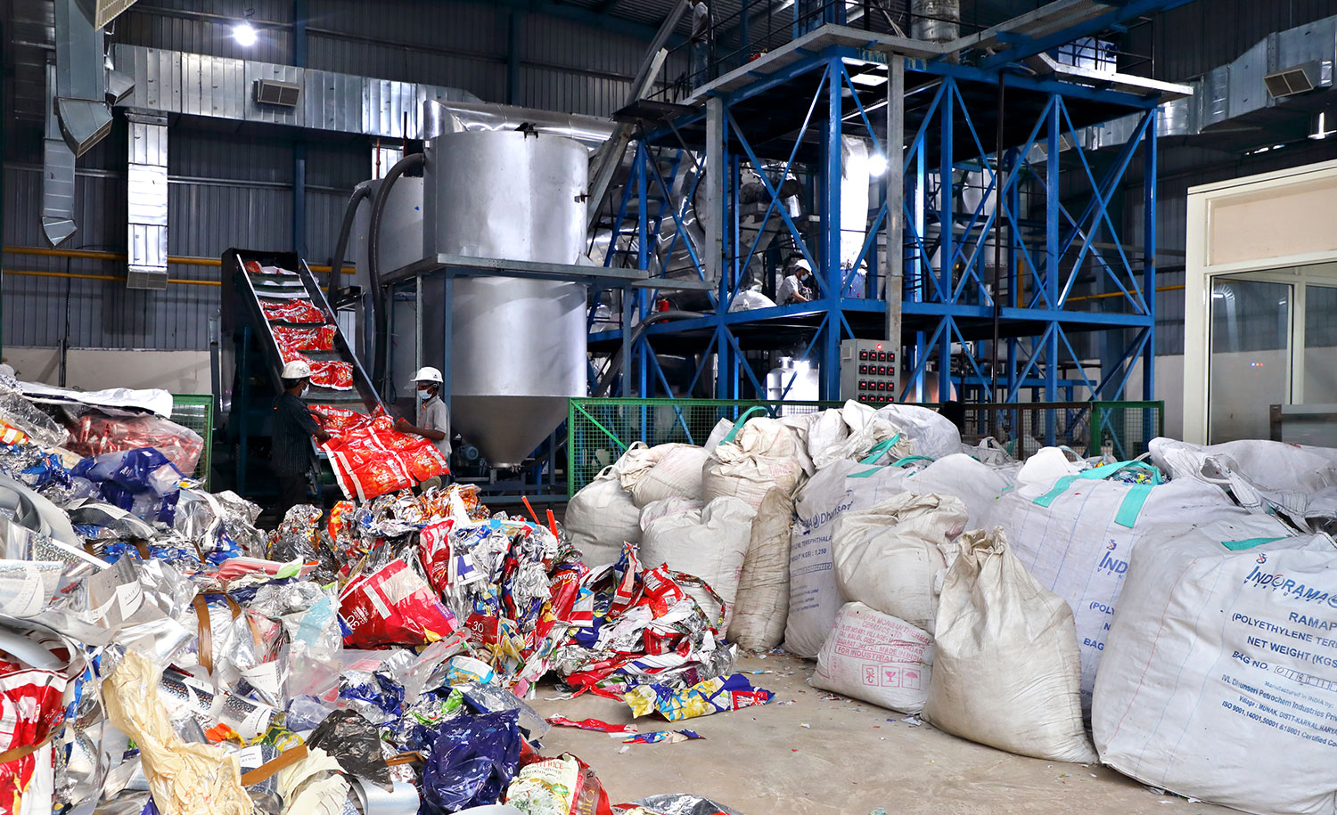 India's-Uflex-opens-pyrolysis-plant-plans-recycling-factory