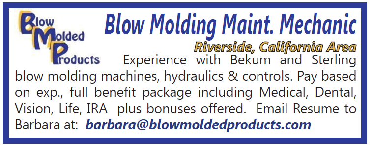 BlowMoldMaintTech