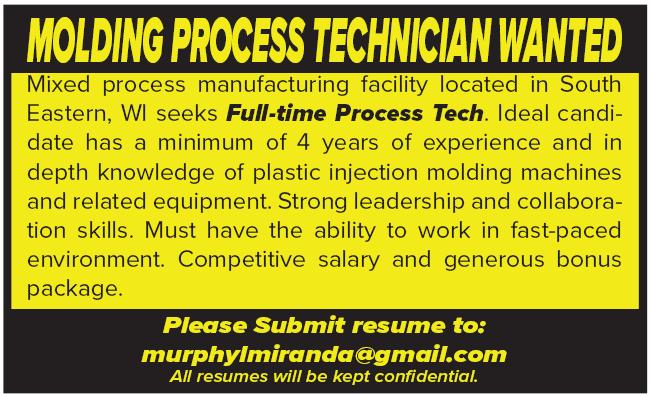 Molding Process Tech