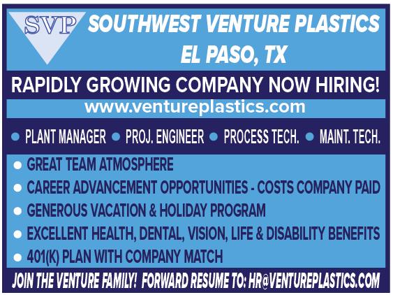 Venture Plastics HW