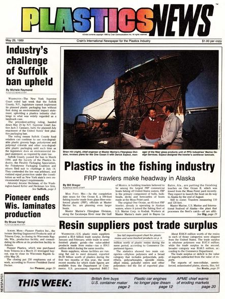 front page May 29, 1989
