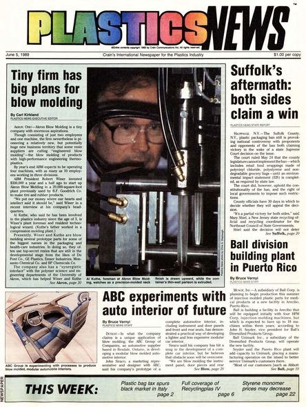front page June 5, 1989