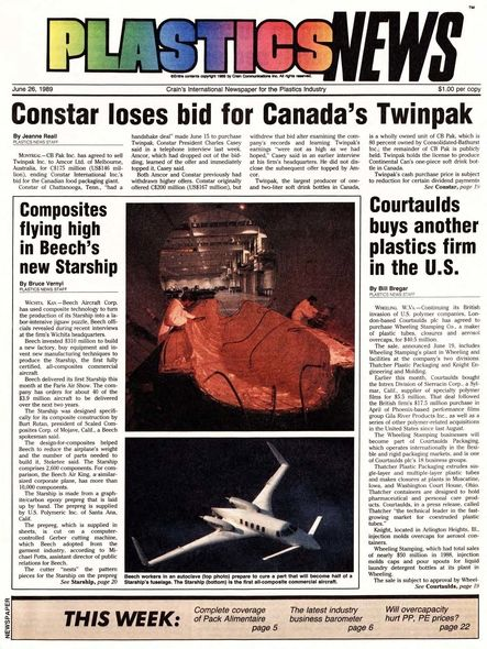 front page June 26, 1989