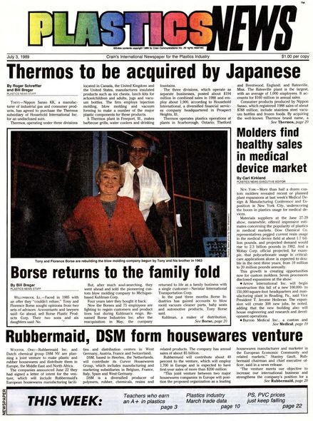 front page July 3, 1989