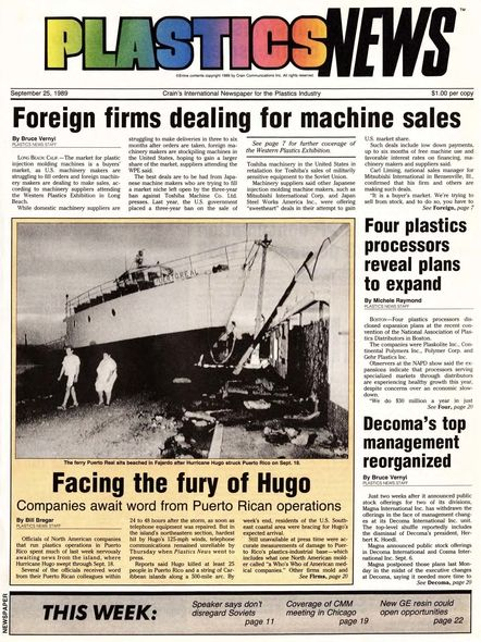 front page September 25, 1989