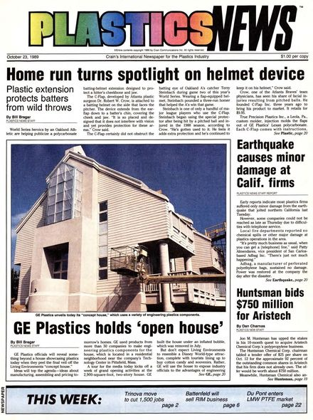 front page October 23, 1989