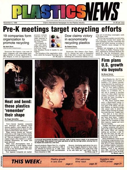 front page November 6, 1989