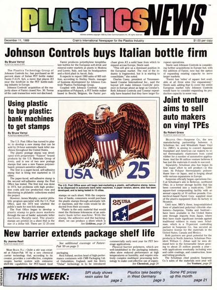 front page December 11, 1989