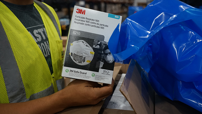 3M battles counterfeits, price gouging for N95 masks