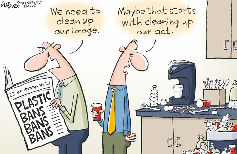 Real sustainability can improve plastics' image without sacrificing profitability