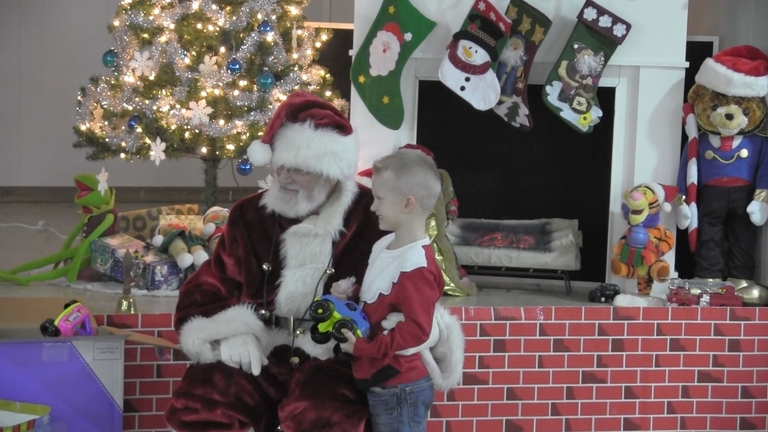 Holiday toy program saved by resin donations
