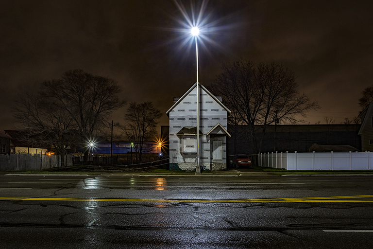 With house wrap and a vinyl fence, hope springs eternal in Detroit
