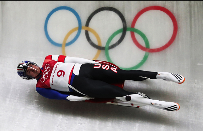 Icy Hot: Dow seeks continued success with USA Luge