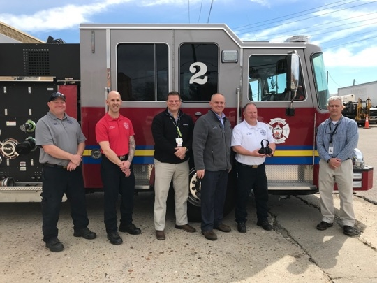 AdvanSix helps firefighters in Virginia