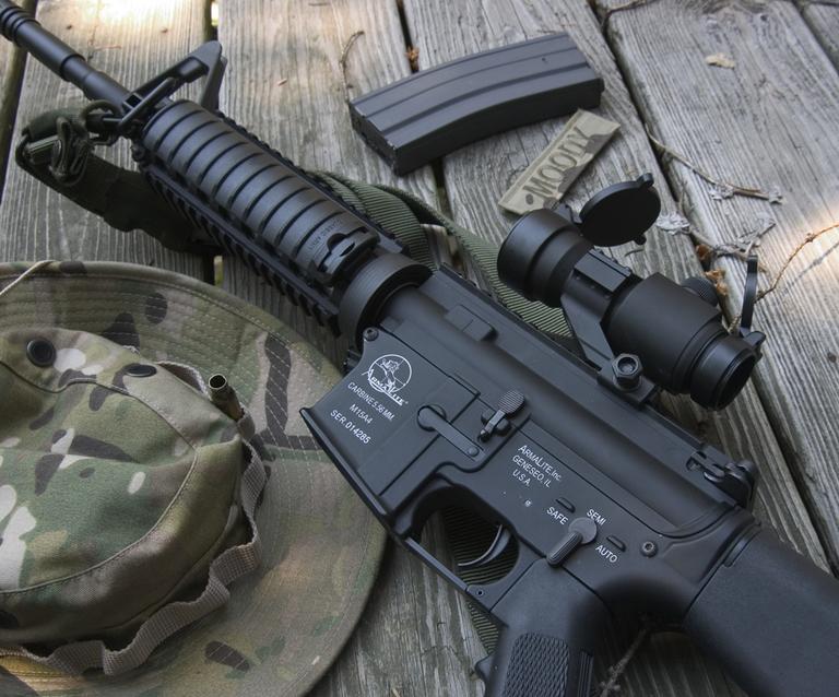 Why did they destroy 320,000 plastic toy guns?