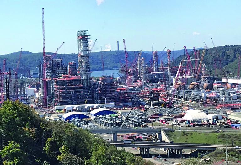 Virus concerns halt Shell Pennsylvania project construction
