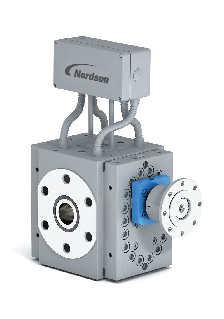 New design for Nordson's large melt pumps increases output, quality