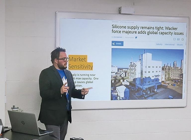 Capacity relief still far off for silicone