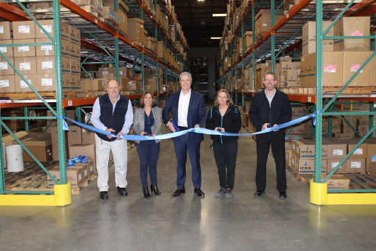 Ipex opens pipe, parts distribution center in California