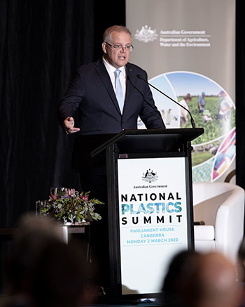 Australian summit tackles single-use plastics, recycling rates