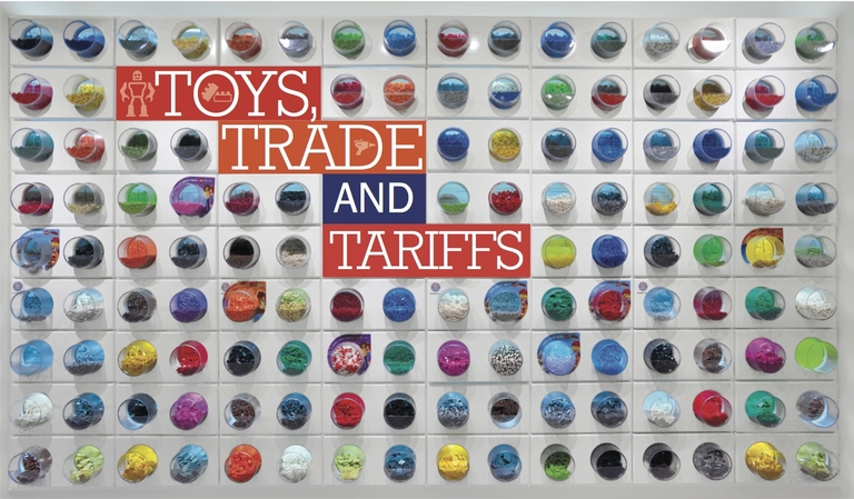 International agreements, rather than kids, may impact toy production