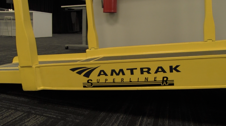 Amtrak tries out carbon fiber for ramps