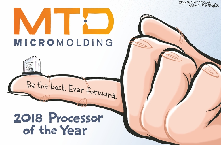 Starting a new chapter at MTD Micro Molding