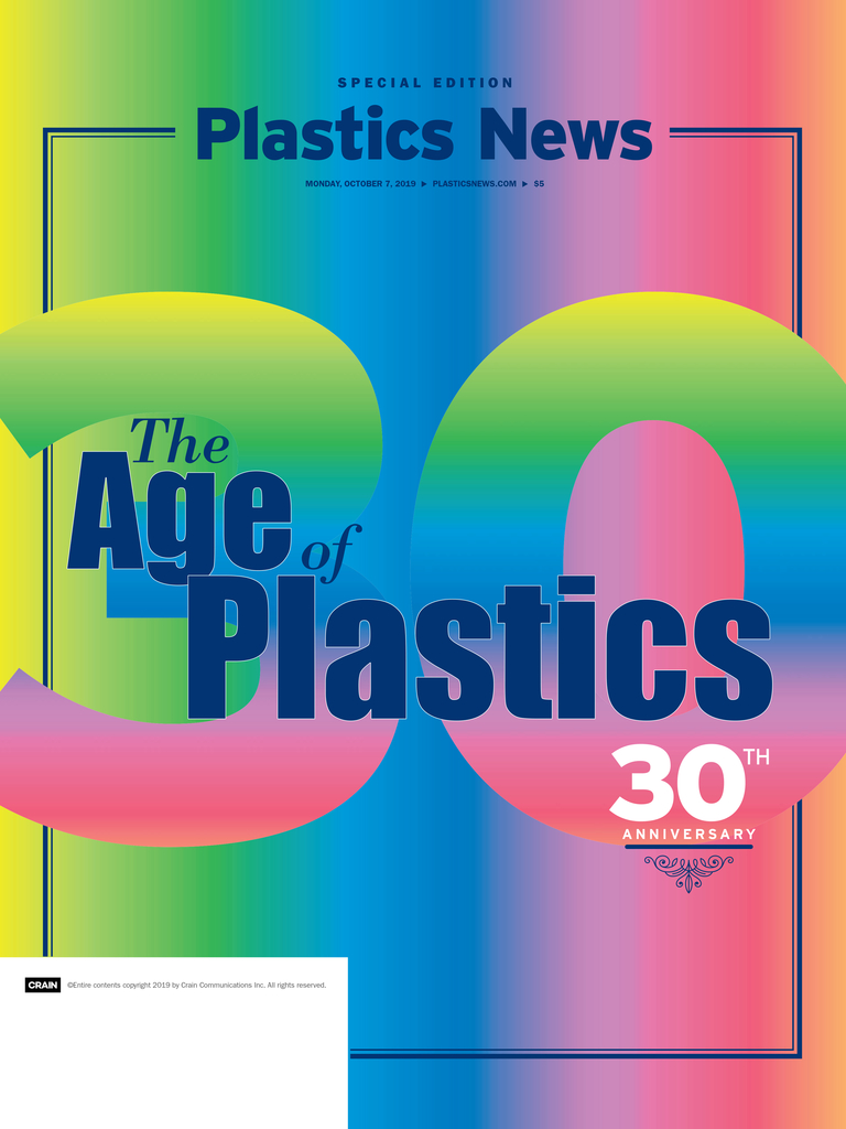 Celebrating the Age of Plastics