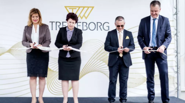 Trelleborg expands LSR facility in Bulgaria