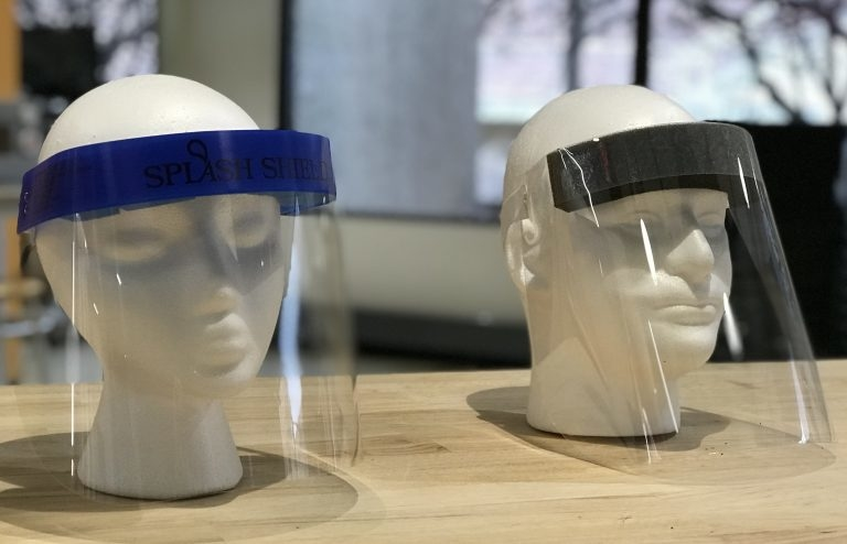 Packaging firms team up to make needed face shields