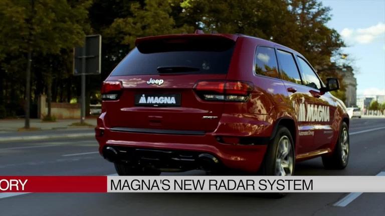 Bumper to Bumper: Magna sees full autonomous driving future with new radar system