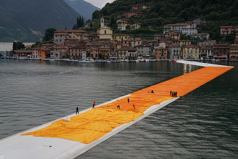 Kickstart: Remembering Christo, the artist known for wrapping big things in plastic