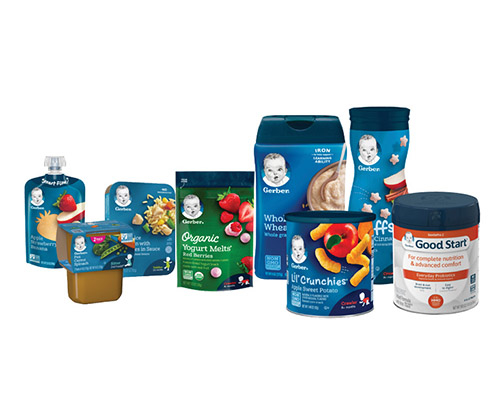 Recycling? For Gerber, it's child's play