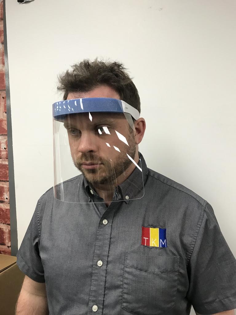 Modern Plastics making facemask shields for coronavirus treatment