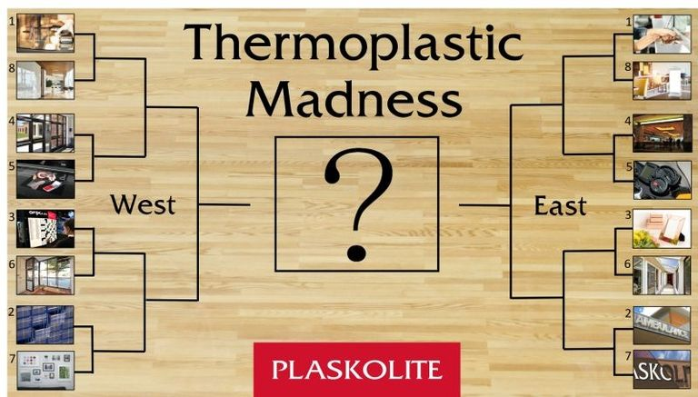 Plaskolite marches into madness with its own online bracket