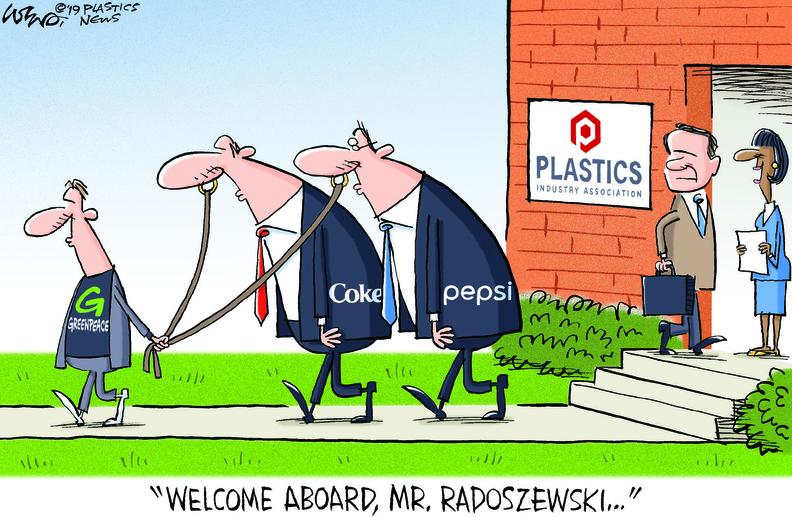 With an extensive plastics background, Radoszewski will be a strong