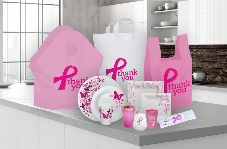 Novolex Pink Products