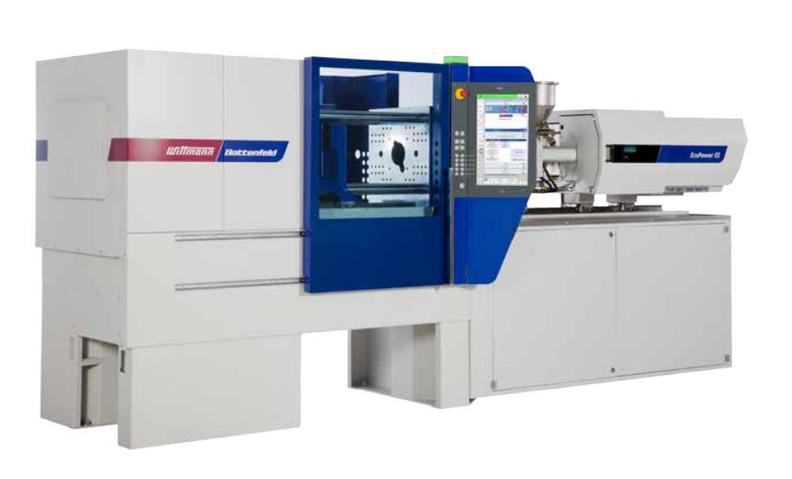 An Eco Power injection moulding machine from Wittmann Battenfeld.jpg