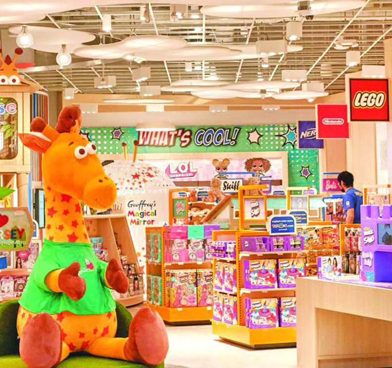 """Toys""""R""""Us® returns today with the opening of its first new U.S. retail store at the Westfield Garden State Plaza in Paramus, New Jersey. Back just in time for the holiday season, the iconic brand will bring the magic of play to kids and families with the latest, most popular toy products and brands, carefully curated and showcased in highly experiential smaller-format spaces."""