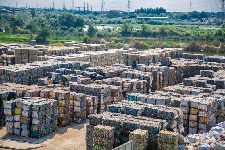 PET Bottles Bales at Indorama Polyester Industries PCL (Nakhon Pathom) in Thailand.png
