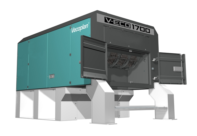 The V ECO 1700 waste shredder from Vecoplan.jpg