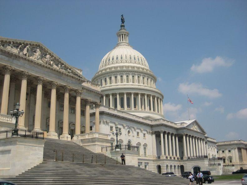 Photo of U.S. capital building