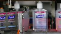 Purell bottles