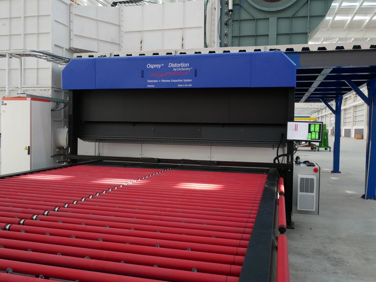 Inspection technology raises sheet quality for architectural uses