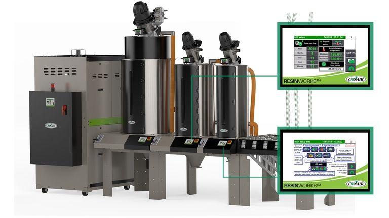 Conair launches touchscreen control for each hopper